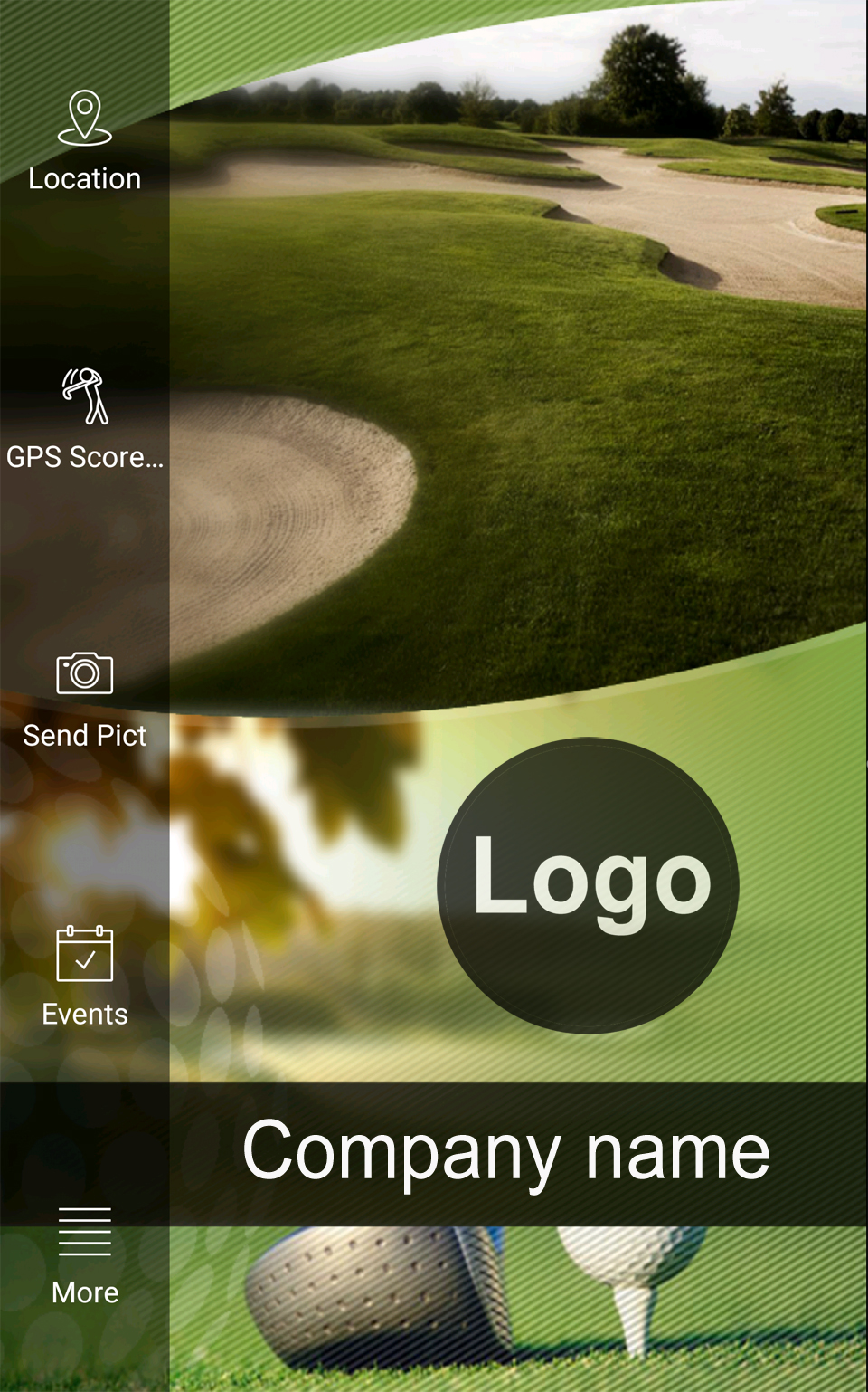 Golf Course Mobile App